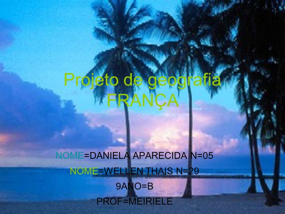 Projeto de geografia FRANÇA