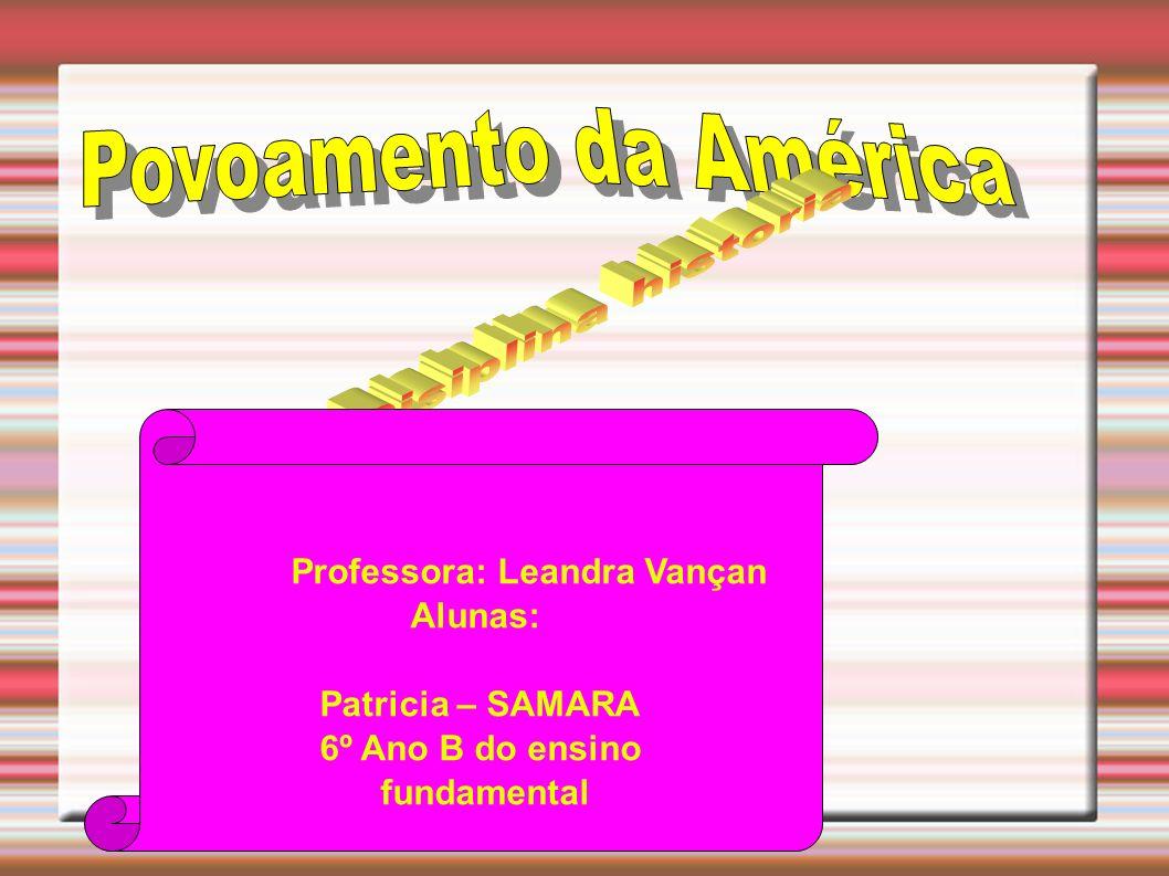 Professora: Leandra Vançan