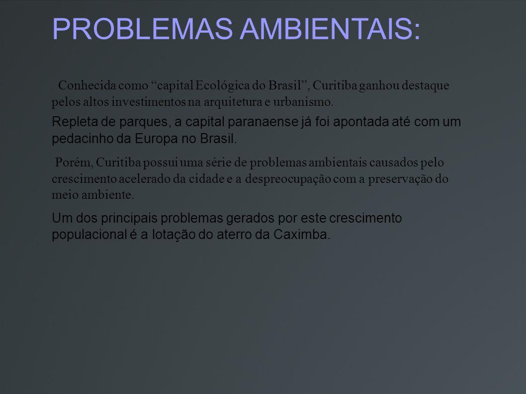 PROBLEMAS AMBIENTAIS: