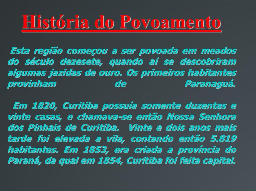 História do Povoamento