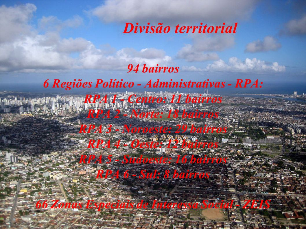 Divisão territorial