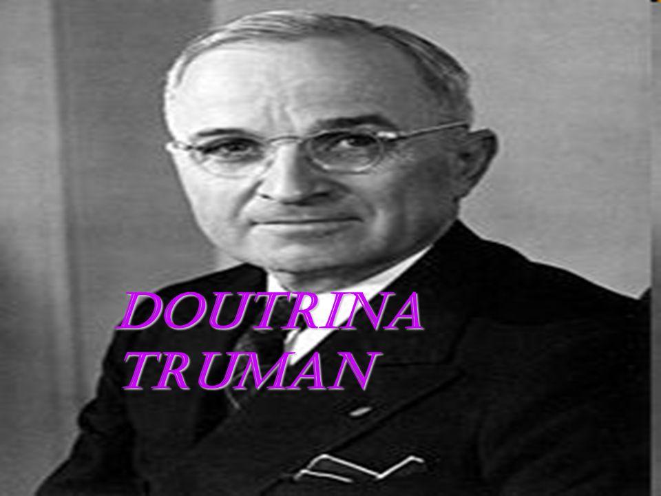 DOUTRINA TRUMAN