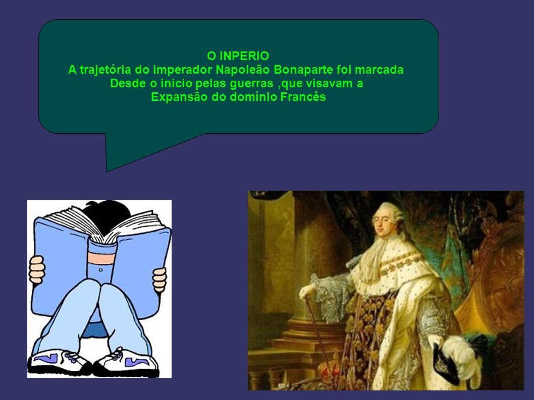 A trajetória do imperador Napoleão Bonaparte foi marcada