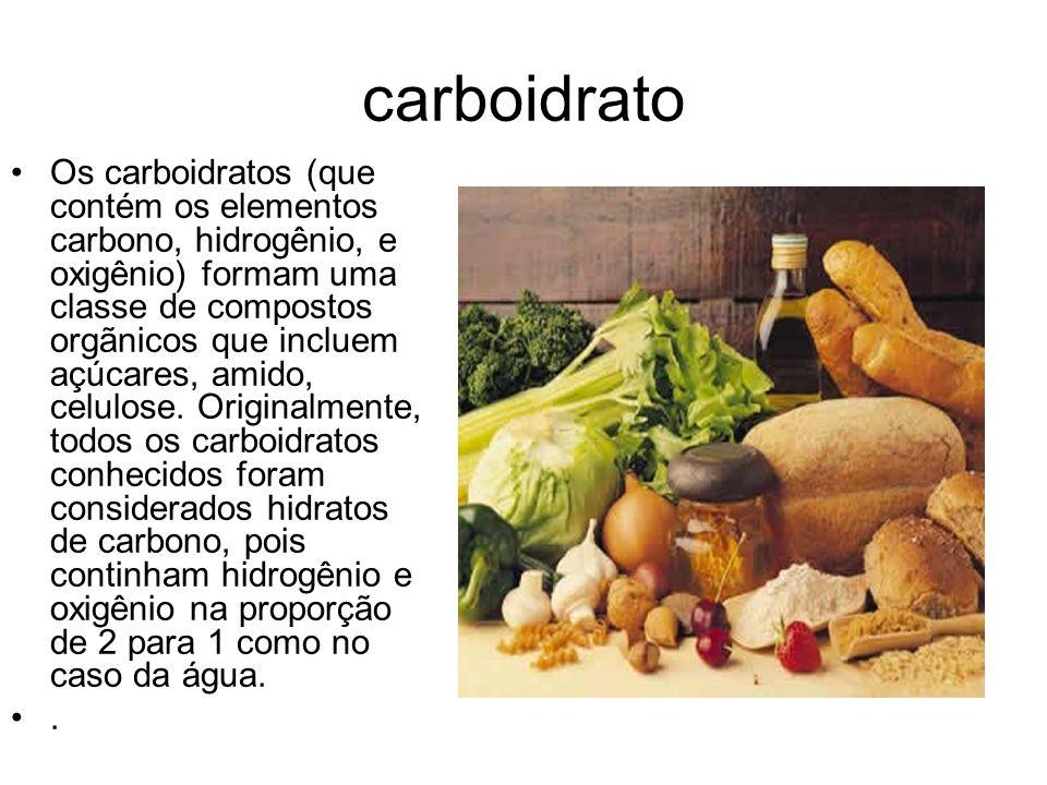 carboidrato