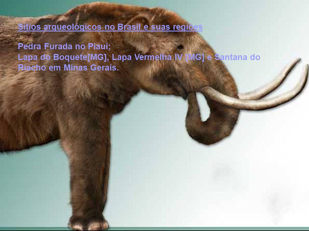 Sítios arqueológicos no Brasil e suas regiões