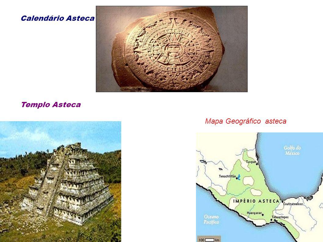 Calendário Asteca Templo Asteca Mapa Geográfico asteca