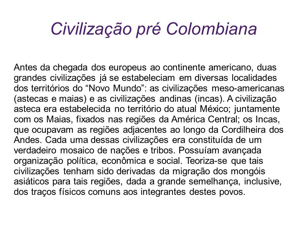Civilização pré Colombiana
