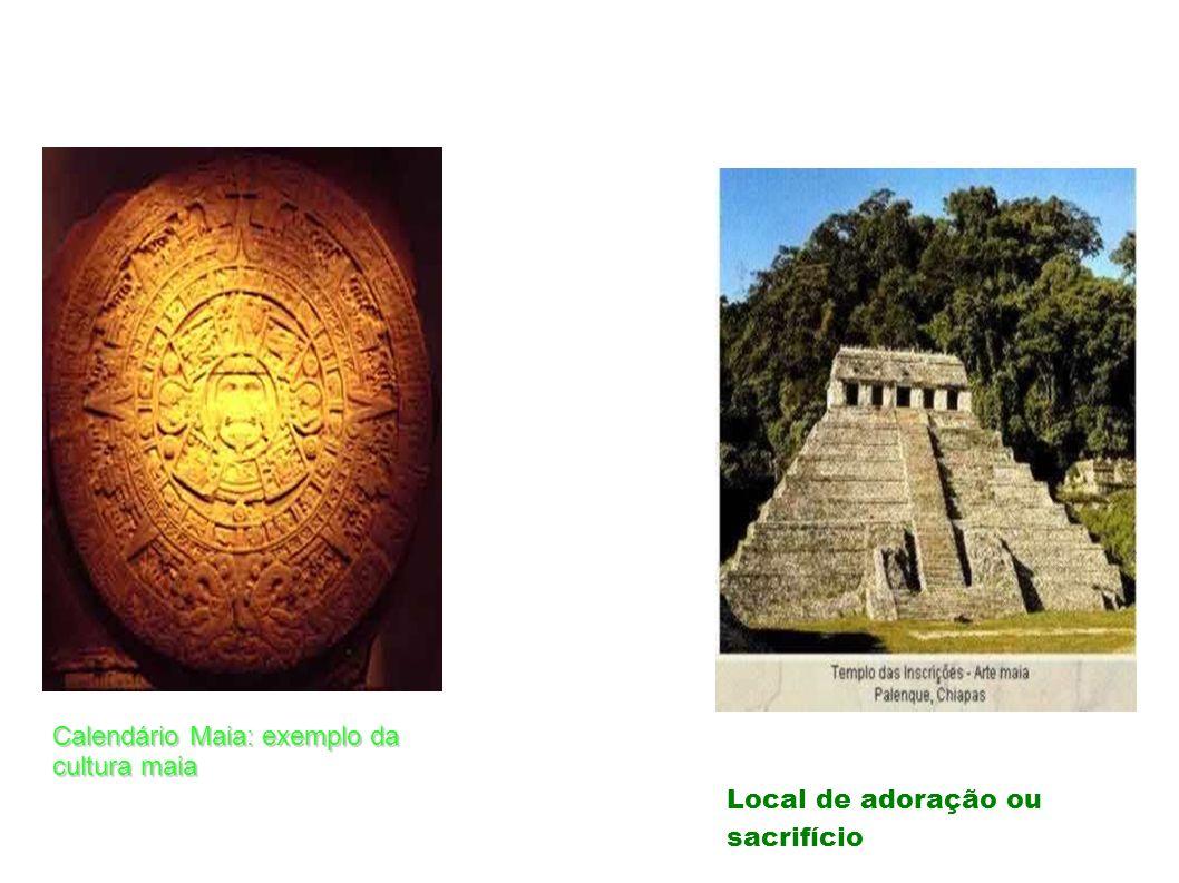 Calendário Maia: exemplo da cultura maia