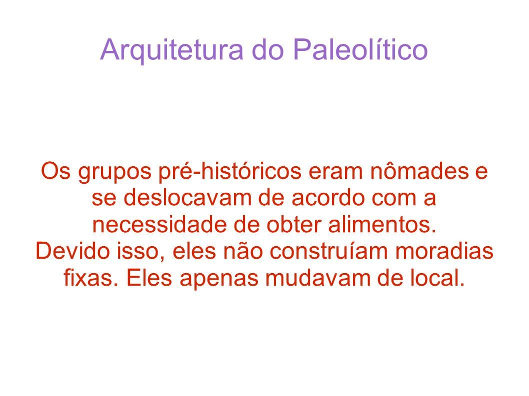Arquitetura do Paleolítico