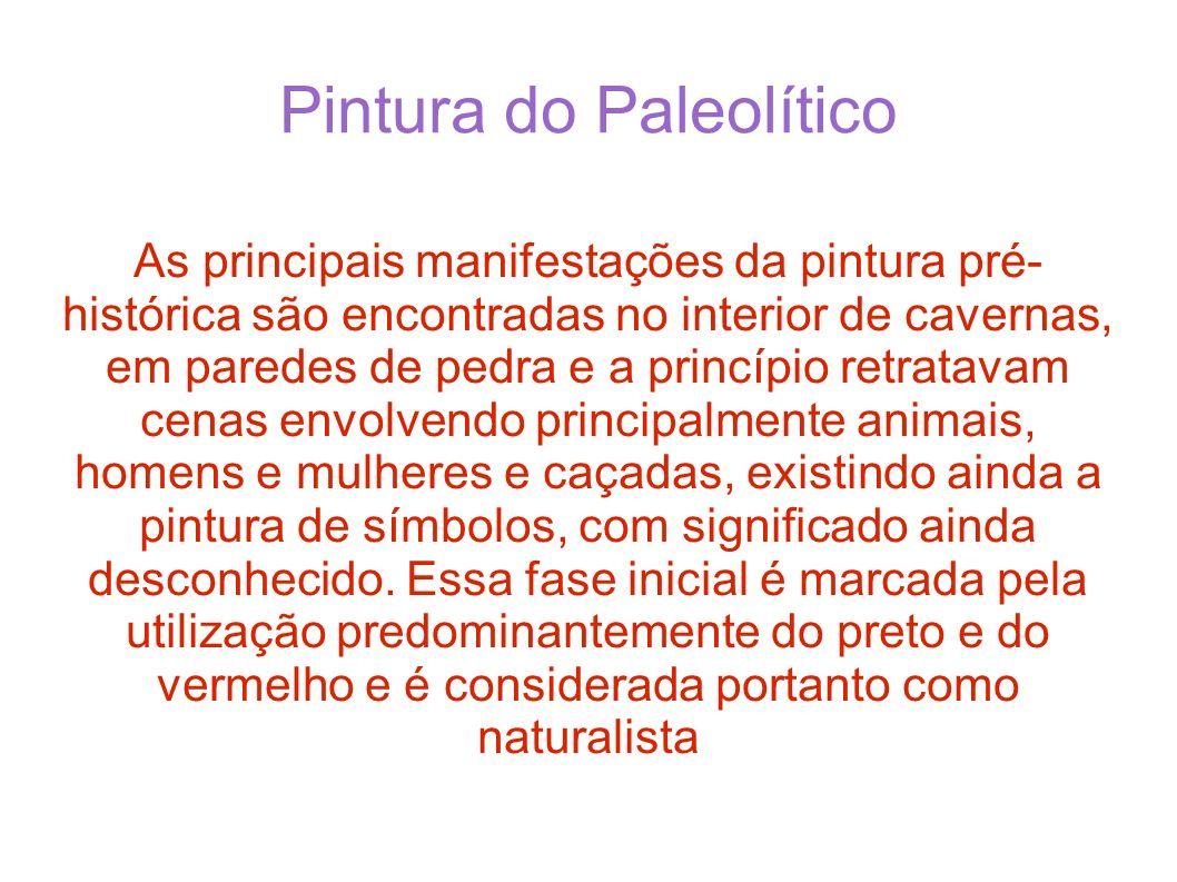Pintura do Paleolítico
