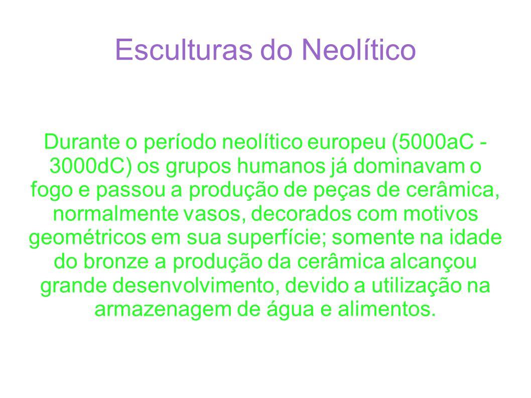 Esculturas do Neolítico