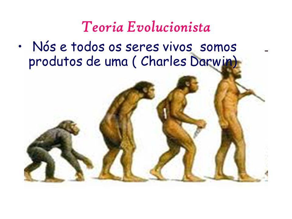 Teoria Evolucionista Nós e todos os seres vivos somos produtos de uma ( Charles Darwin)