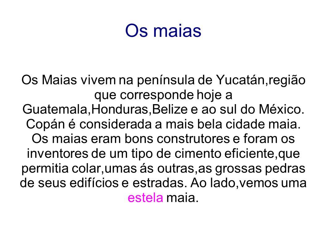 Copán é considerada a mais bela cidade maia.