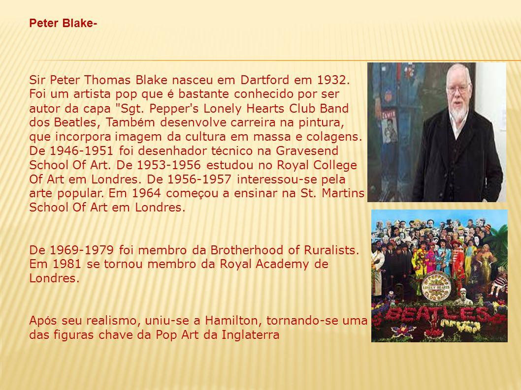 Peter Blake-