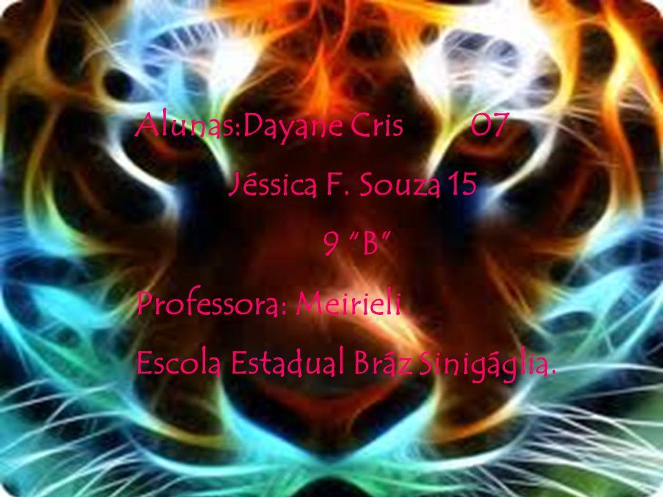 Alunas:Dayane Cris 07 Jéssica F. Souza 15.
