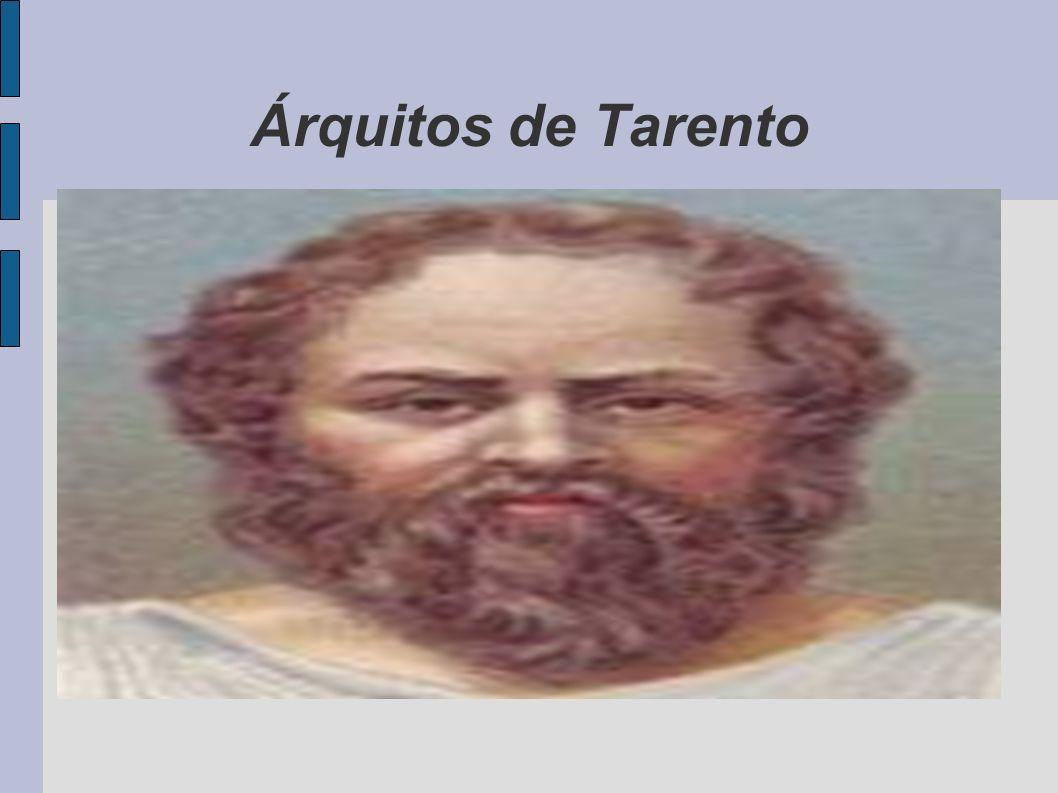 Árquitos de Tarento