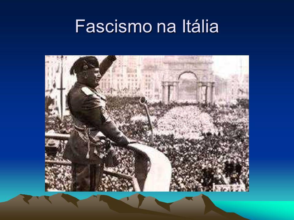 Fascismo na Itália