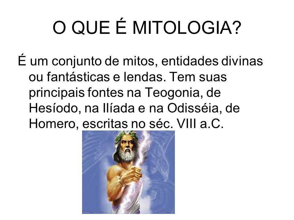 O QUE É MITOLOGIA