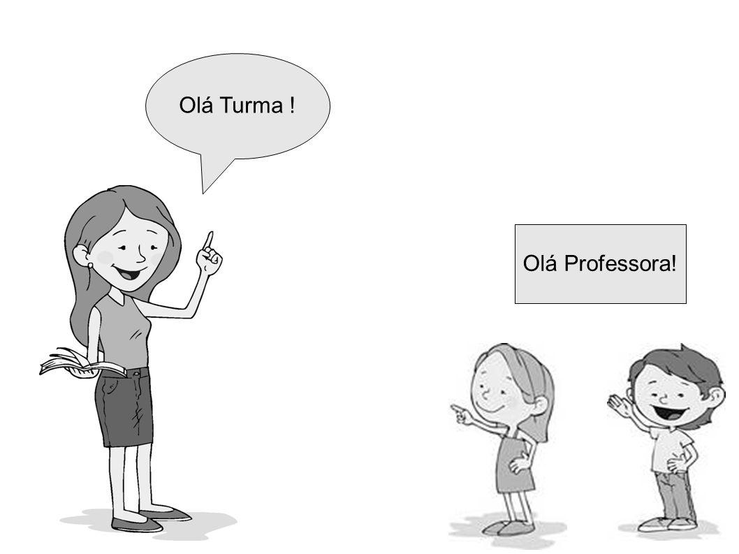 Olá Turma ! Olá Professora!