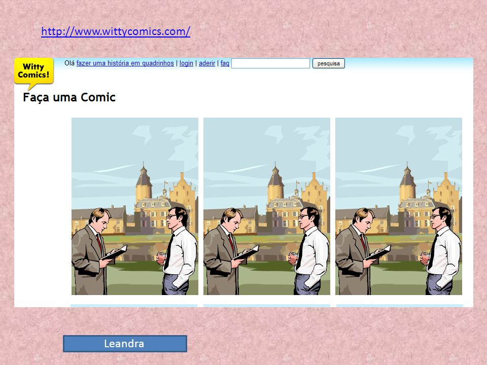 http://www.wittycomics.com/ Leandra