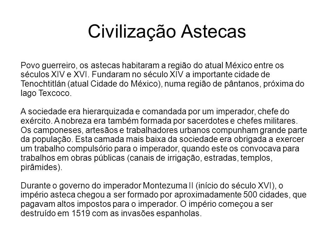 Civilização Astecas