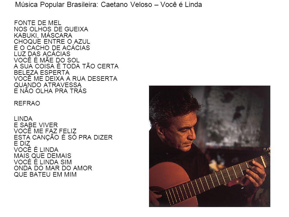 Música Popular Brasileira: Caetano Veloso – Você é Linda