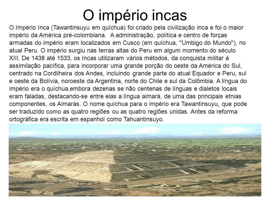 O império incas