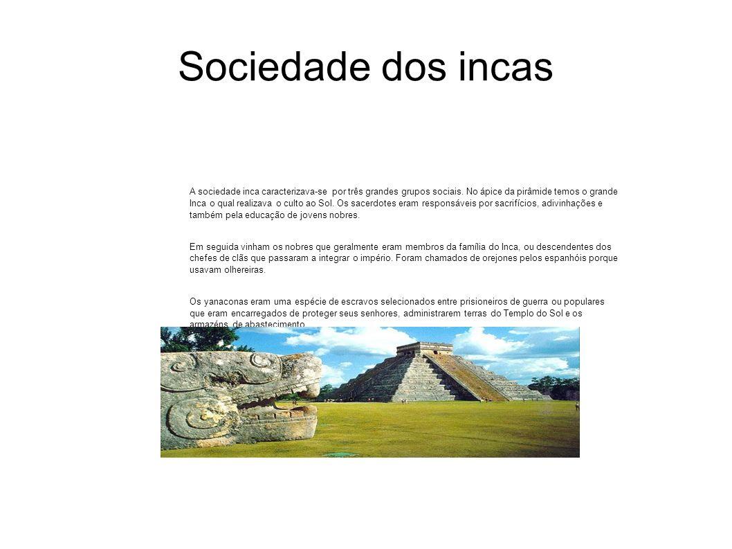Sociedade dos incas