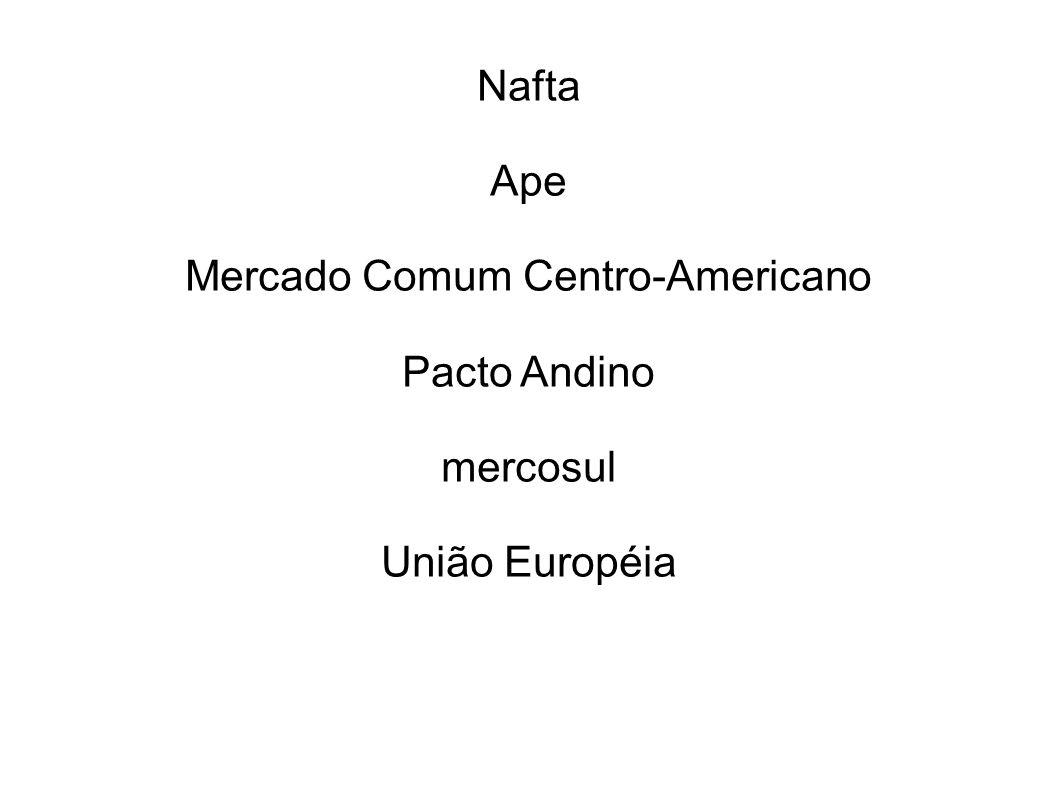 Mercado Comum Centro-Americano