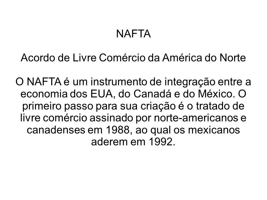 Acordo de Livre Comércio da América do Norte