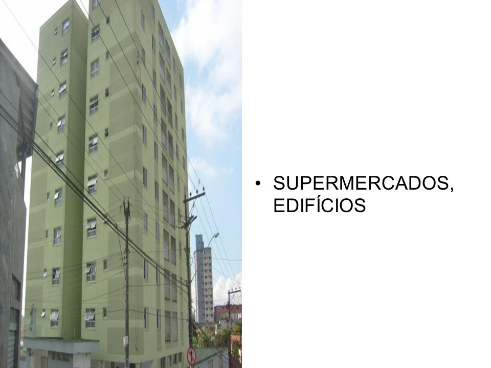 SUPERMERCADOS, EDIFÍCIOS
