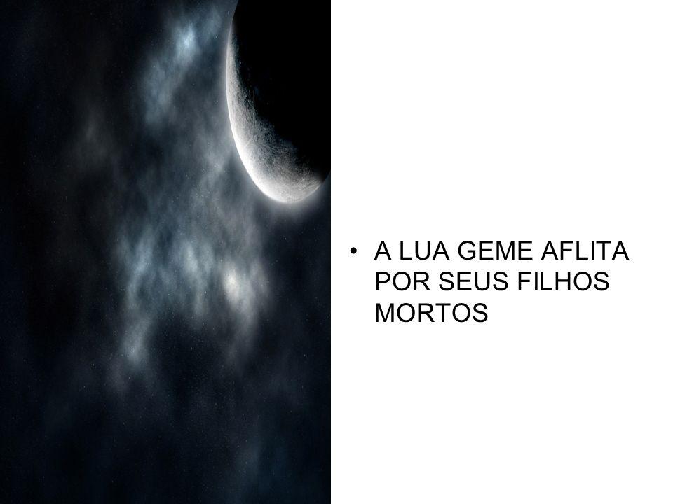 A LUA GEME AFLITA POR SEUS FILHOS MORTOS