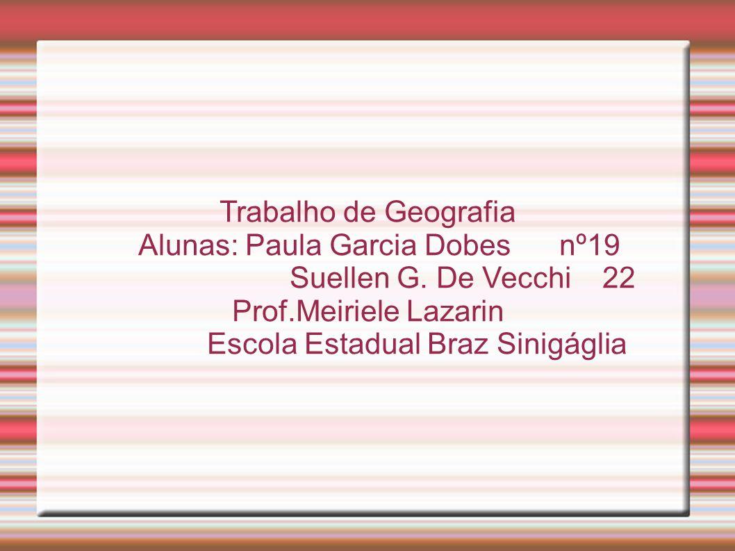 Alunas: Paula Garcia Dobes nº19