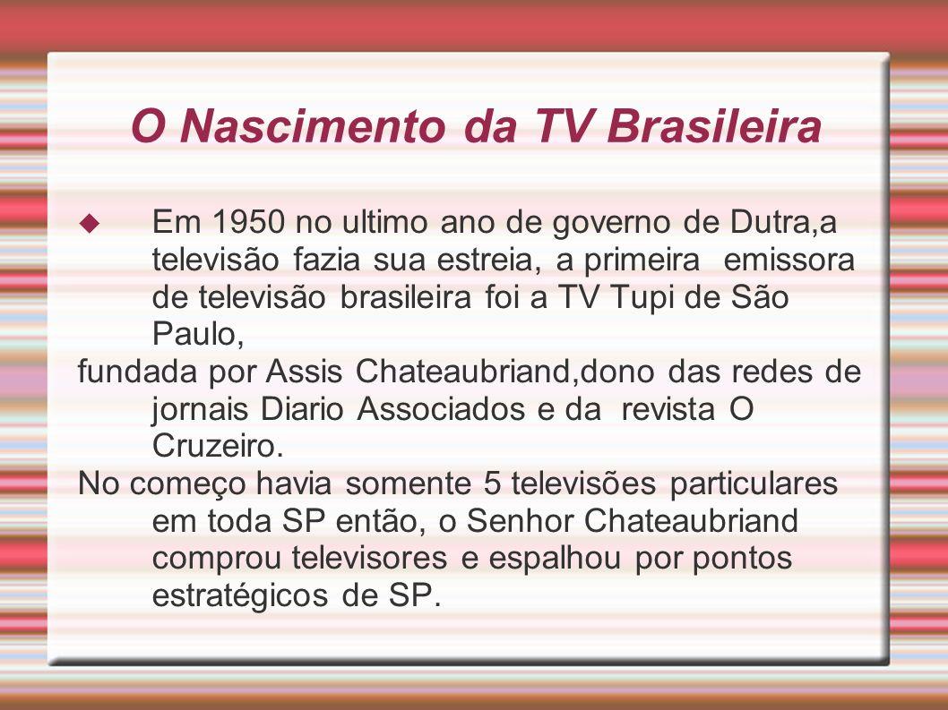 O Nascimento da TV Brasileira