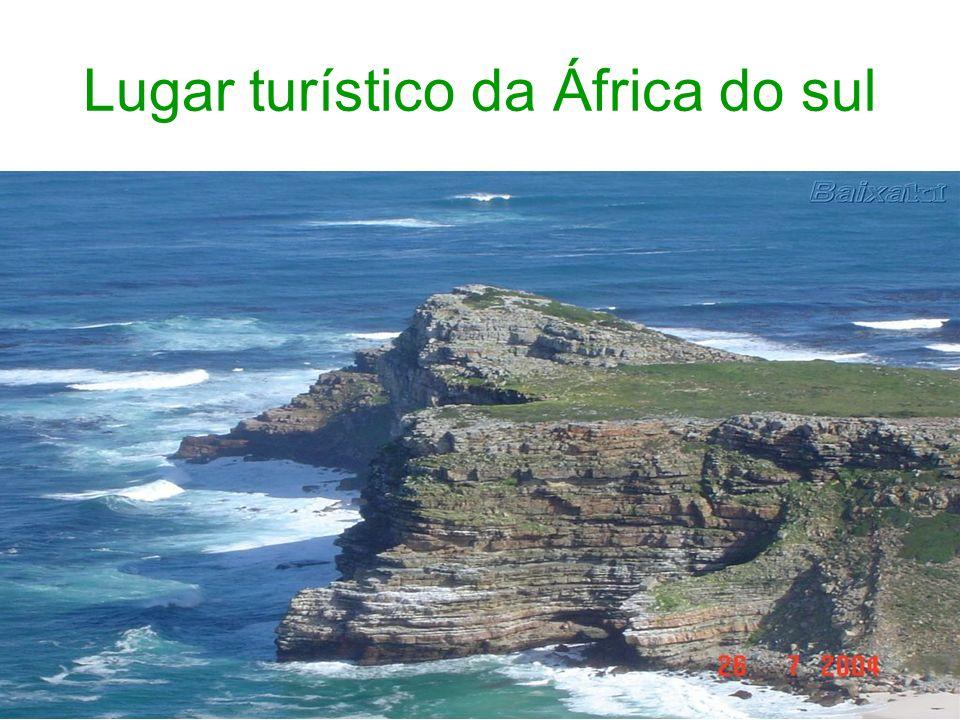 Lugar turístico da África do sul