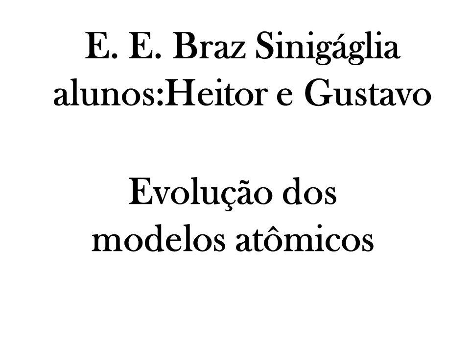 E. E. Braz Sinigáglia alunos:Heitor e Gustavo