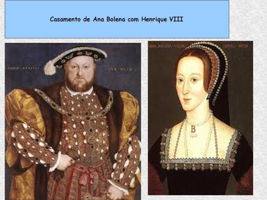 Casamento de Ana Bolena com Henrique VIII