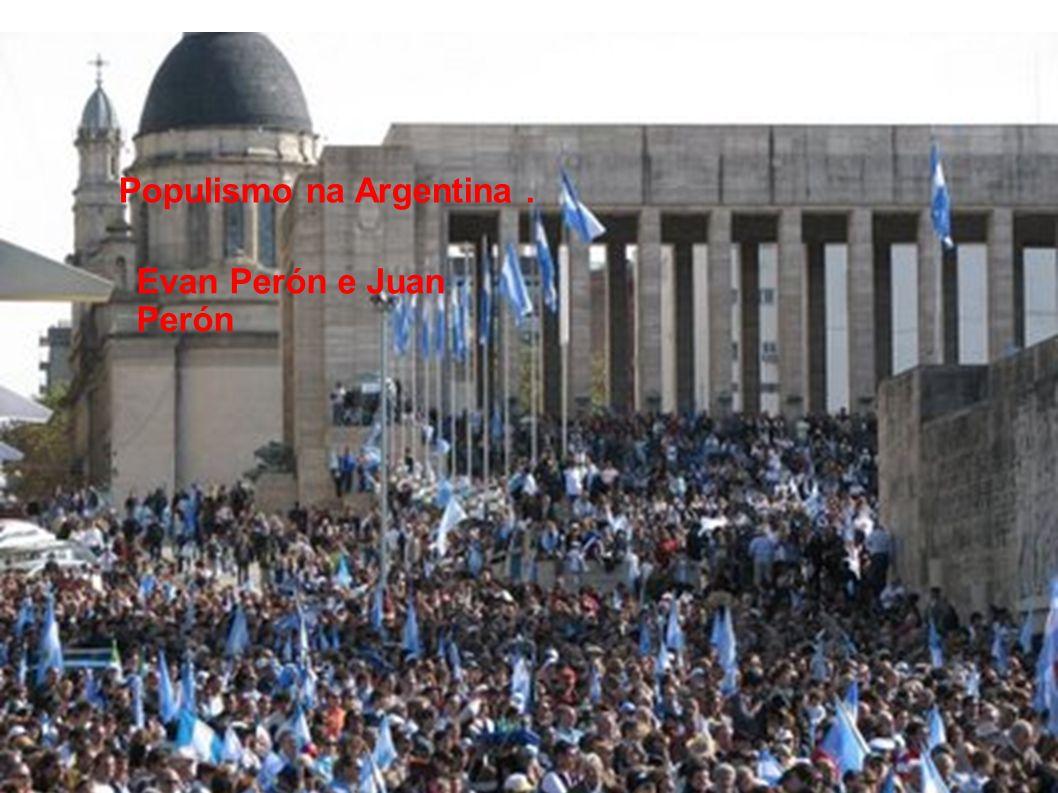 Populismo na Argentina .