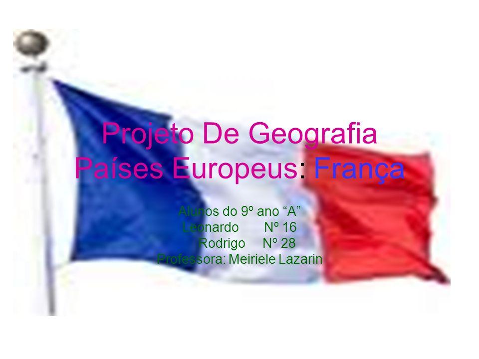Projeto De Geografia Países Europeus: França