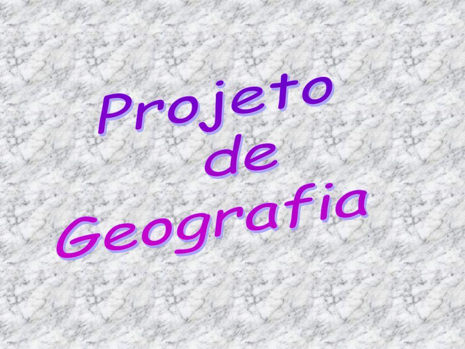 Projeto de Geografia