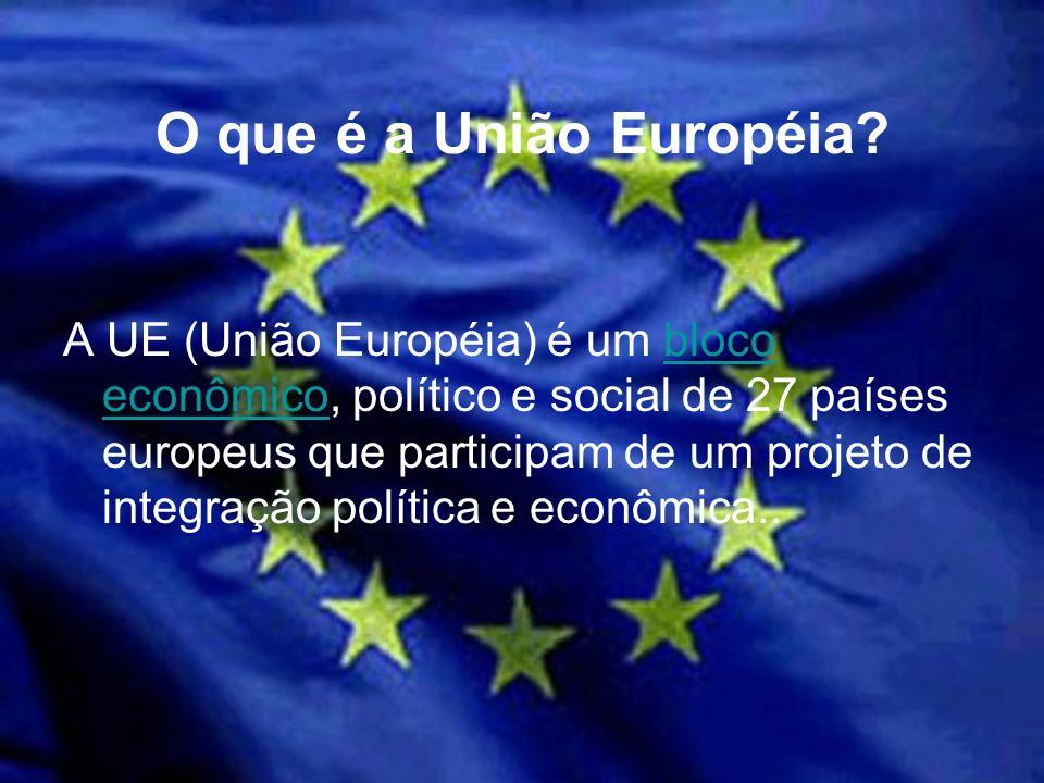 O que é a União Européia