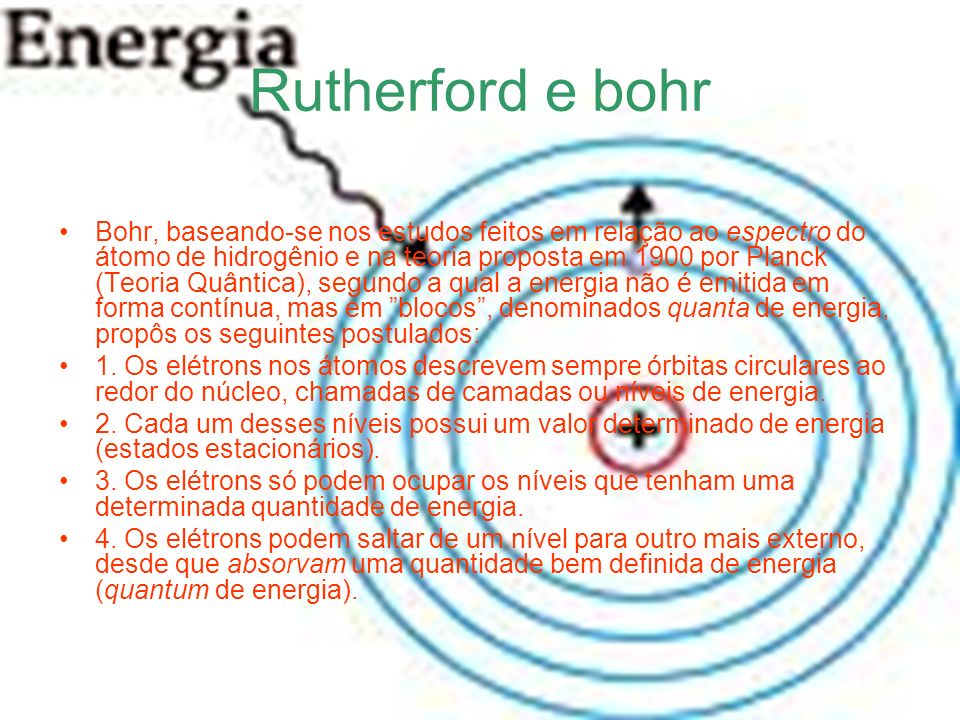 Rutherford e bohr
