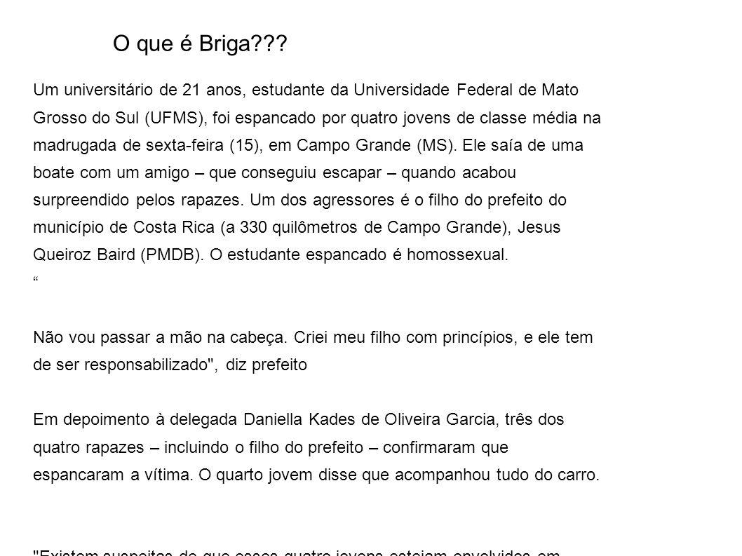 O que é Briga