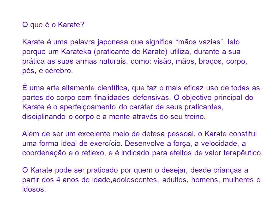 O que é o Karate