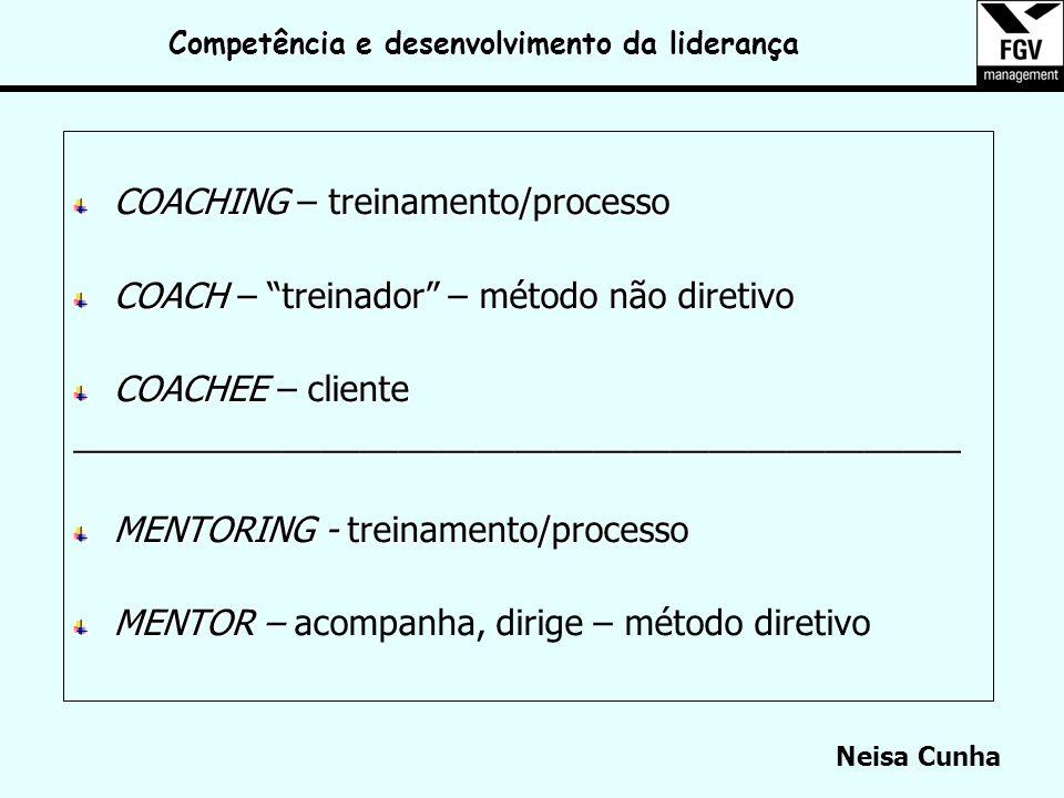 Competência e desenvolvimento da liderança