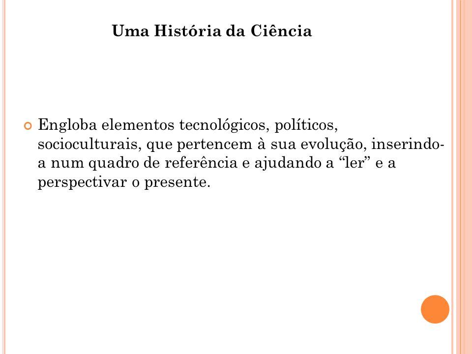 Uma História da Ciência