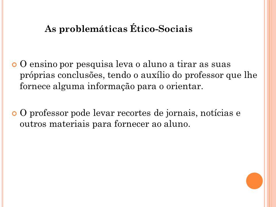 As problemáticas Ético-Sociais