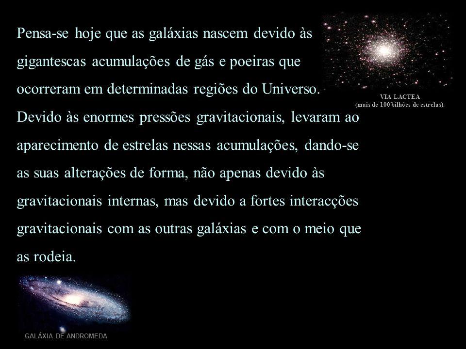 (mais de 100 bilhões de estrelas).