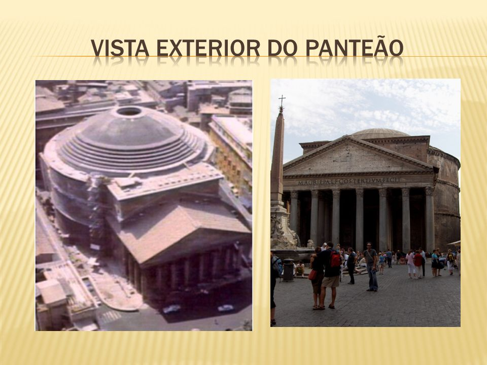VISTA EXTERIOR DO PANTEÃO