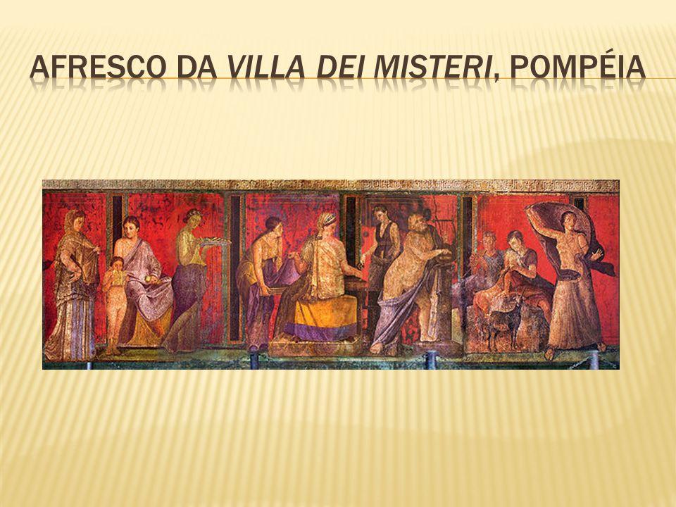 Afresco da Villa dei Misteri, Pompéia
